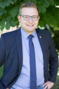 Pressefoto von Bürgermeister Nils Anhuth.