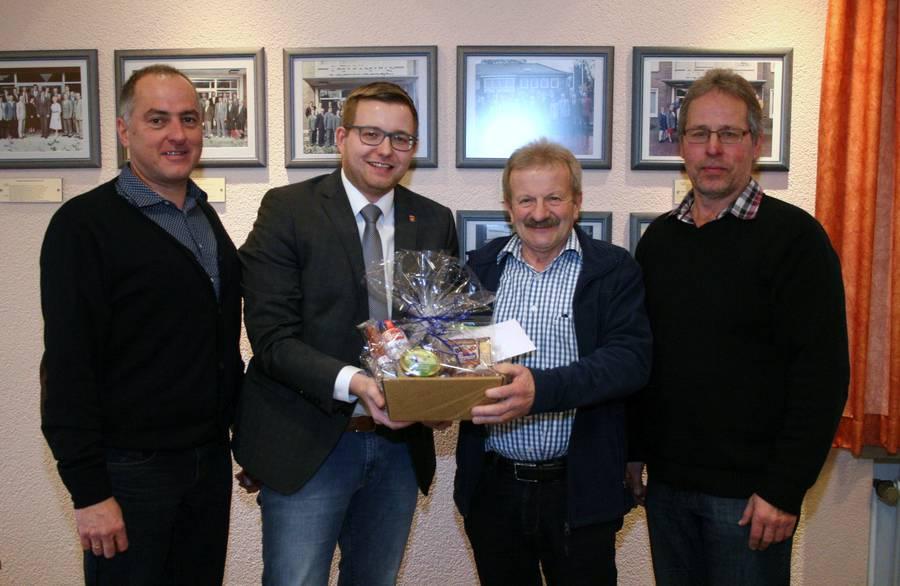 Foto von links: Armin Flügge, Nils Anhuth, Johannes Kreke, Uwe Overlander. Aufnahme: J.P.