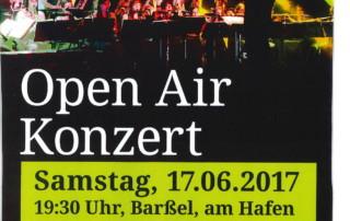 Plakat NSO Konzert am Hafen 2017