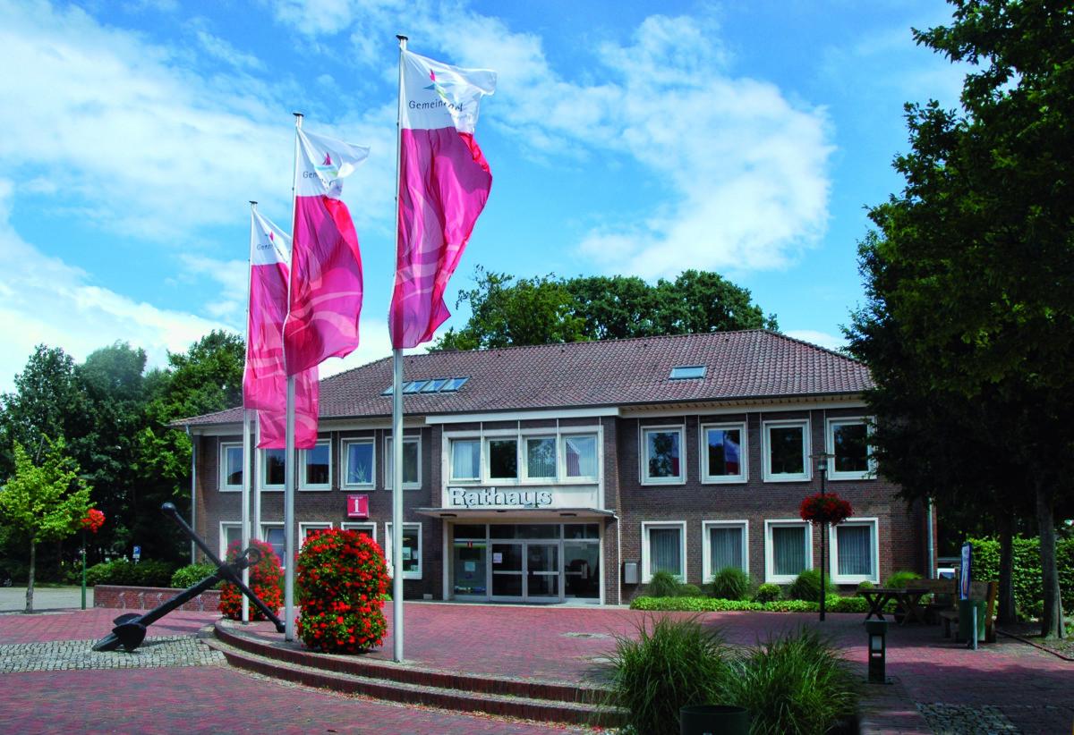 Das Rathaus der Gemeinde Barßel.