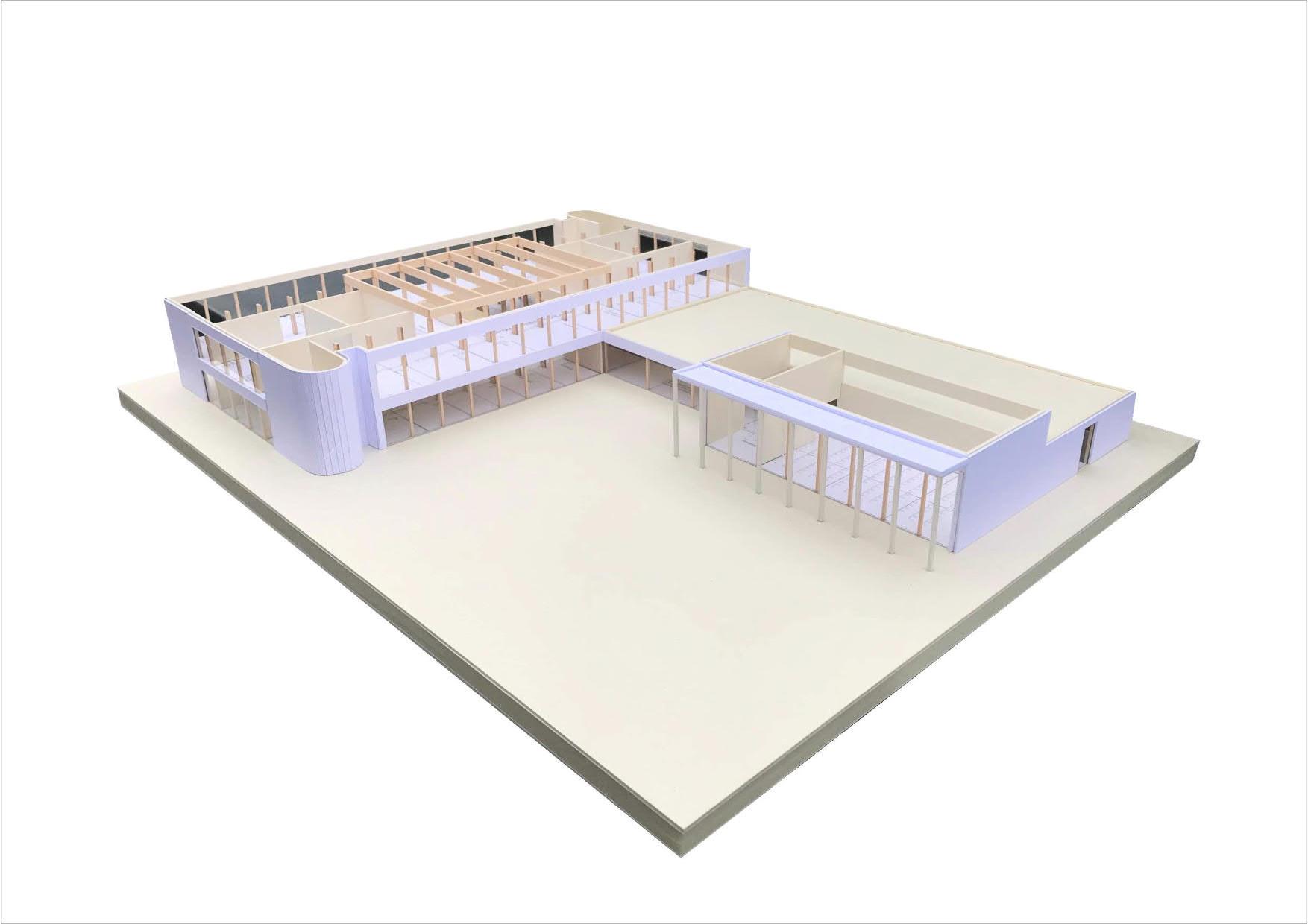 Modell des neuen Rat- und Bürgerhauses in Barßel Bildquelle: Matthias Schneider